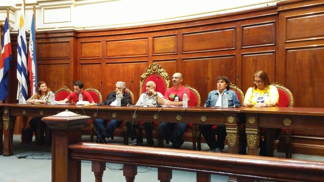 """7th """"Our America"""" Trade Union Meeting begins in Uruguay"""