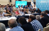 Trade union leaders meet MPs to discuss Argentina's employment emergency