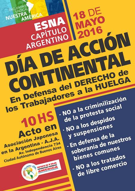 Día de accion continental