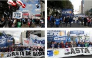 Photo Gallery: All the pictures from the trade unions' march on April 29th