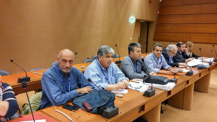 Both CTA meet with ILO Director-General Guy Ryder, denounce Argentine labor movement's situation