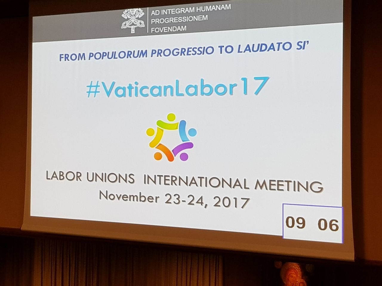 International Meeting of Trade Union Organizations at Vatican City