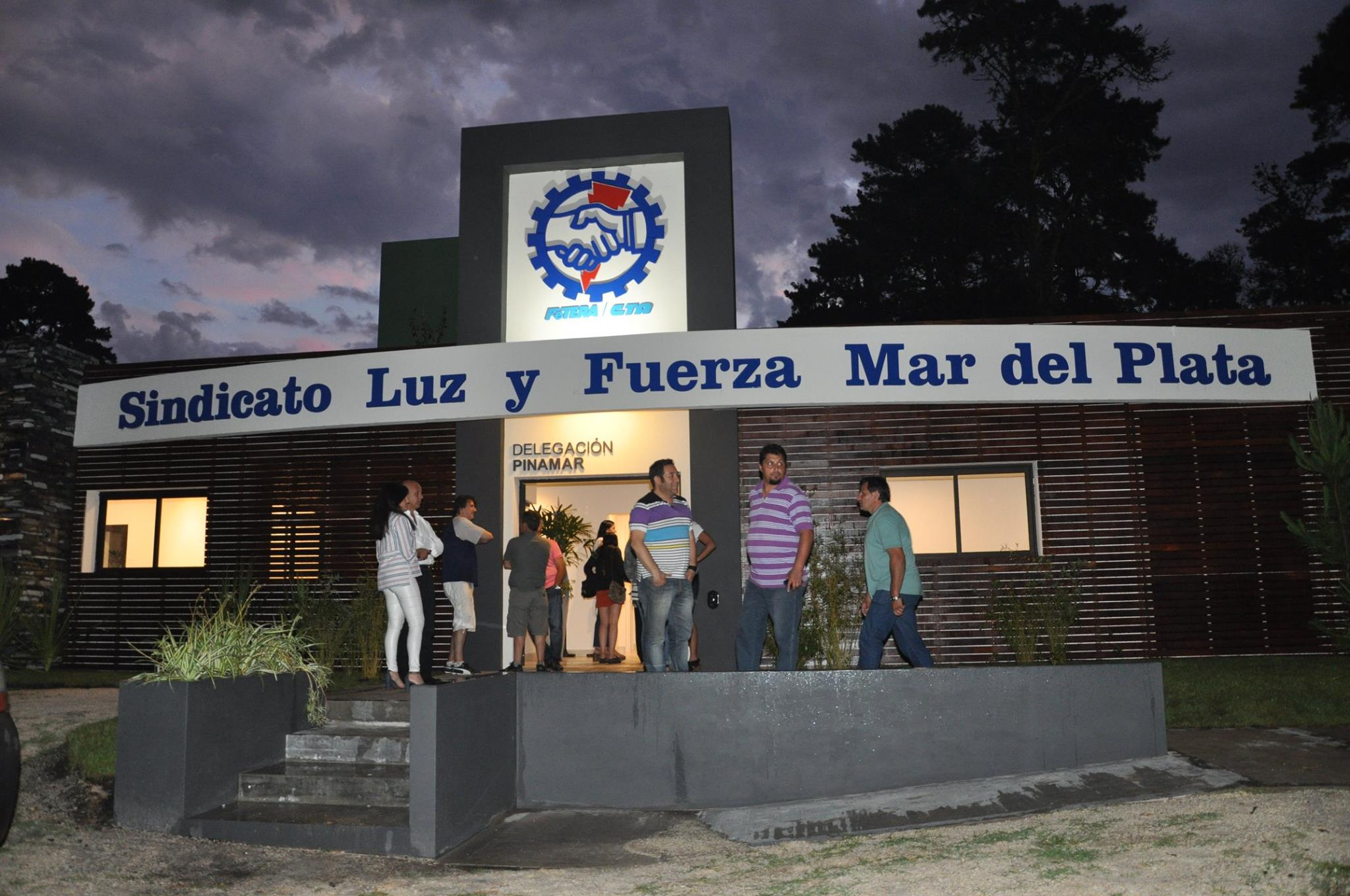 Inauguration of Pinamar branch